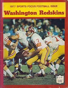 1977 Redskins Sports Focus Yearbook