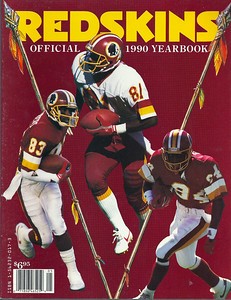 1990 Redskins Yearbook