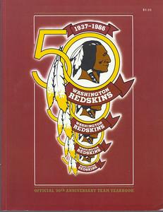 1986 Redskins Yearbook
