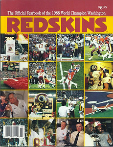 1988 Redskins Yearbook