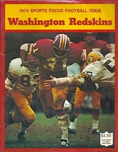 1974 Redskins Sports Focus