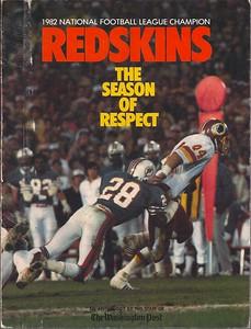 1983 Redskins The Season of Respect