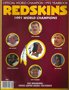 1992 Redskins Yearbook