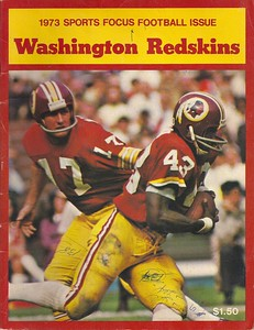 1973 Sports Focus Redskins Yearbook