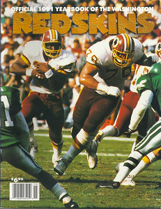 1991 Redskins Yearbook
