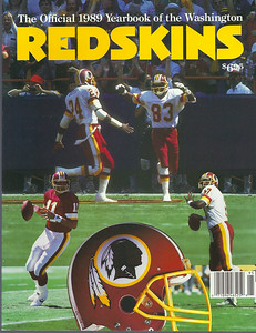 1989 Redskins Yearbook