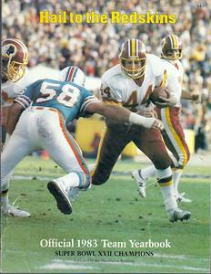 1983 Redskins Yearbook