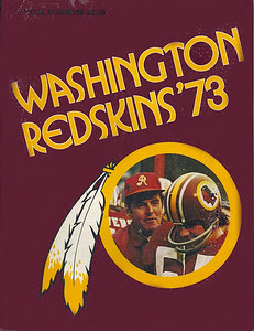 1973 Redskins Yearbook