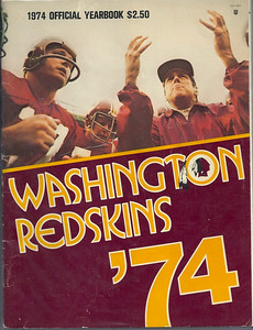 1974 Redskins Yearbook