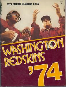 1974 Redskins Yearbook