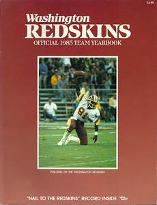 1985 Redskins Yearbook