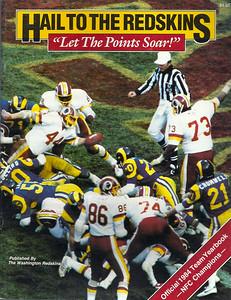 1984 Redskins Yearbook