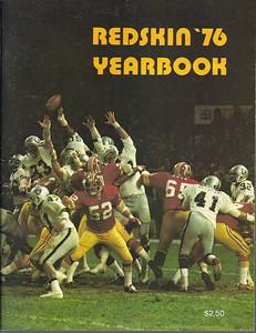 1976 Redskins Yearbook