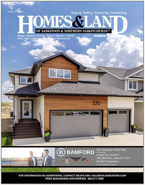 Homes & Land - Volume 11, Issue 2 - Cover