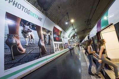 Photo exposée dans les stations RATP été 2018