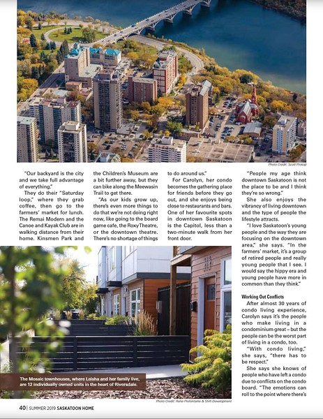 Saskatoon Home - Issue 46, Summer 2019 - Page 40