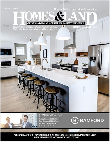 Homes & Land - Volume 11, Issue 9 - Cover