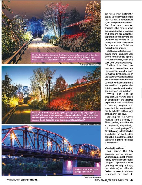 Saskatoon Home Magazine - Winter 2018, Page 47