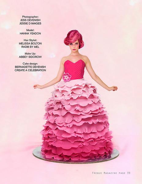{Published} Freque Magazine - Doll Cake