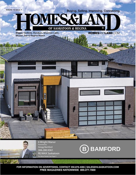 Homes & Land - Volume 12, Issue 1 - Cover
