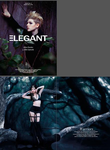 {Published} Elegant Magazine February 'Fashion' Issue