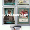Assorted baseball card photographs