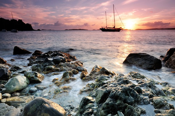 """Image Published by the U.S. National Parks in """"Virgin Islands Mariners Guide"""""""