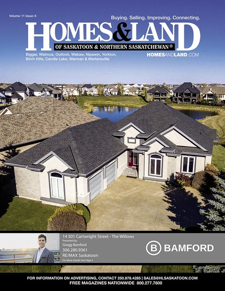 Homes & Land - Volume 11, Issue 6 - Cover
