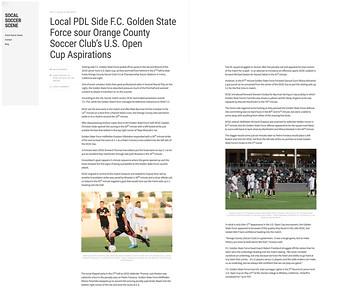 So Cal Soccer Scene 5-17-18