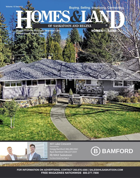 Homes & Land - Volume 12, Issue 5 - Cover