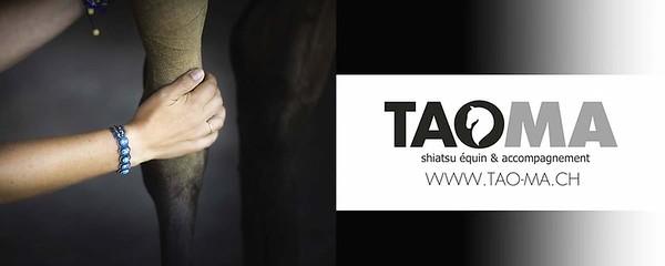Bâche géante pour un stand pour TaoMa