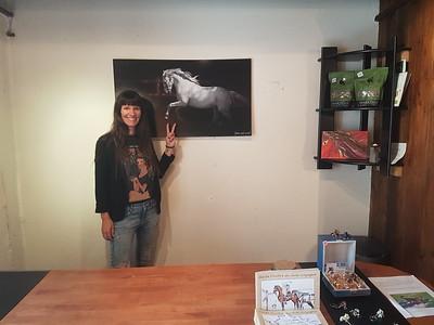 Impression d'un tableau pour le white horse store à Orges