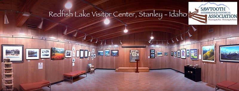 Redfish Lake Visitor Center, Stanley Idaho - 2013