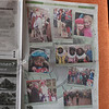 Inside Amstelveens Nieuwsblad, a local newspaper, a hole page with only pictures made by me.