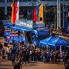2014_03_12, Frankfurt, Germany, Messe Frankfurt, Bus, Tent, Line, MusikMesse