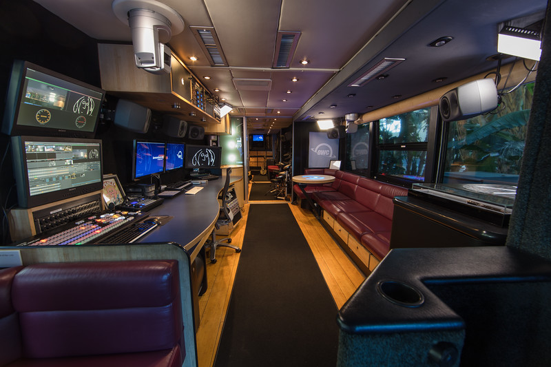 2018_01_24, Anaheim, Bus, CA, Day 1, Interior, Lennonbus.org, NAMM, OWC, Press