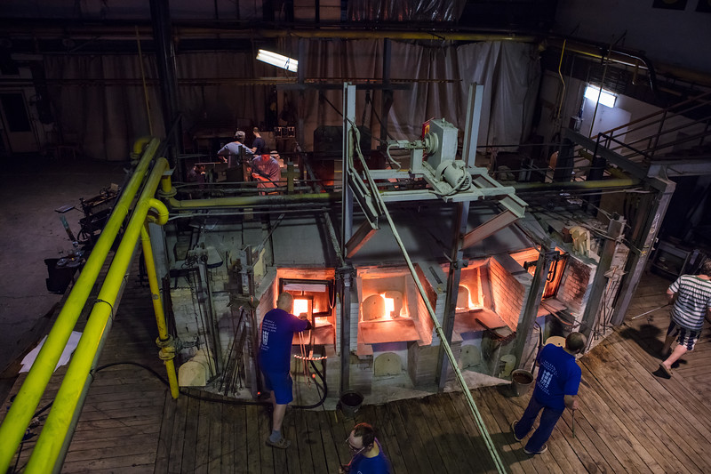 Harahov; Glassworks; Glass furnace