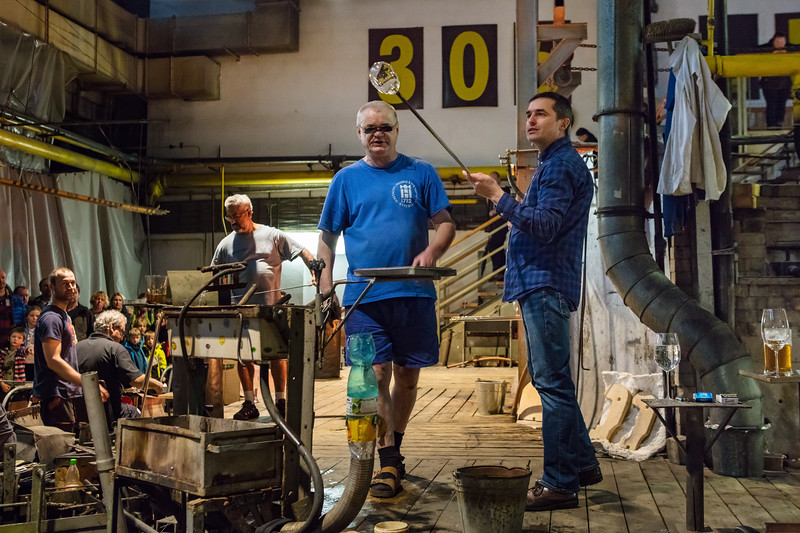 Harahov; Glassworks; When you visit the glassworks, you can play the role of a glass blower for a while.