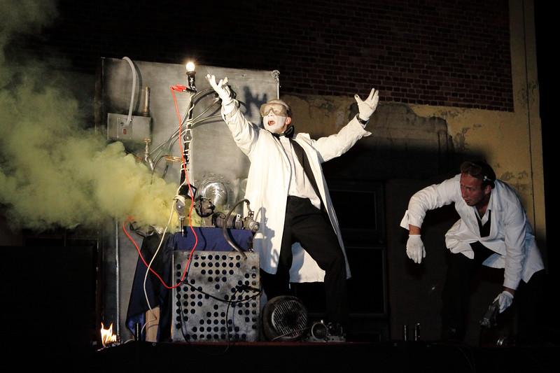 Reportage; INDUSTRIADA; Muzeum Energetyki; Łaziska Górne; pro MEDIA team; Theater show Edison