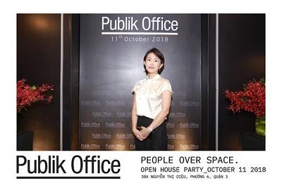 Publik Office Grand Opening - Chụp hình in ảnh lấy liền sự kiện