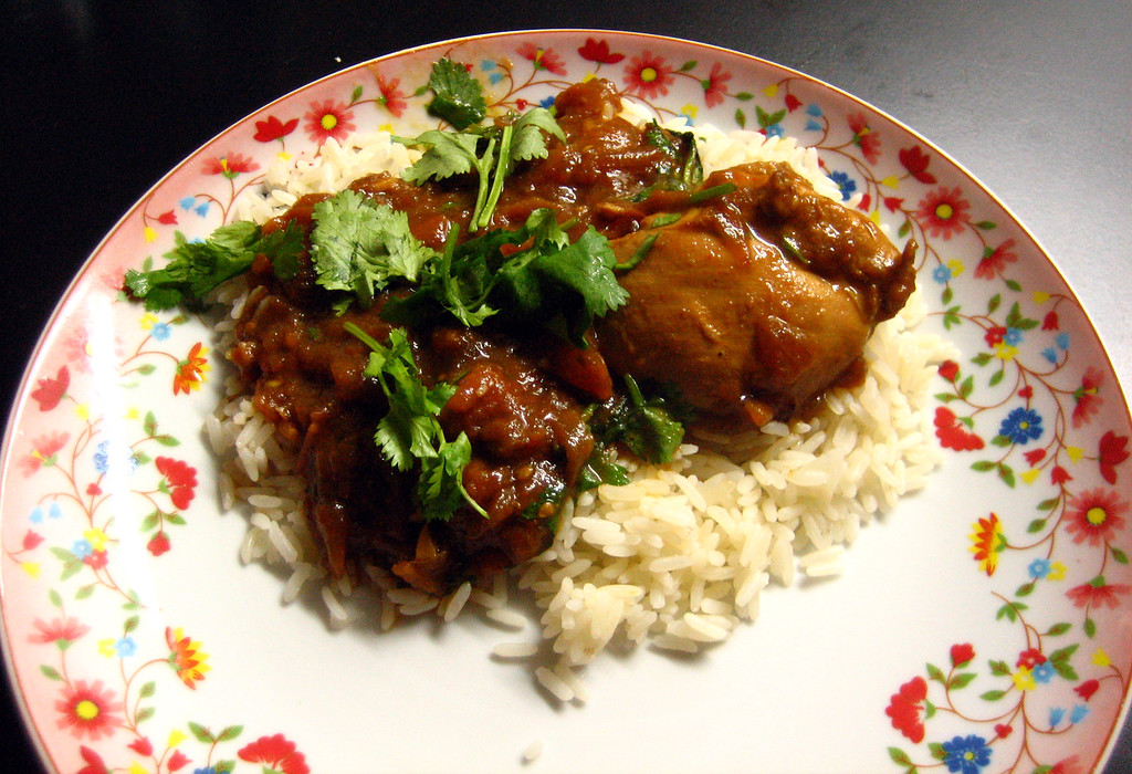 Jammin's Chicken Curry ready to eat!