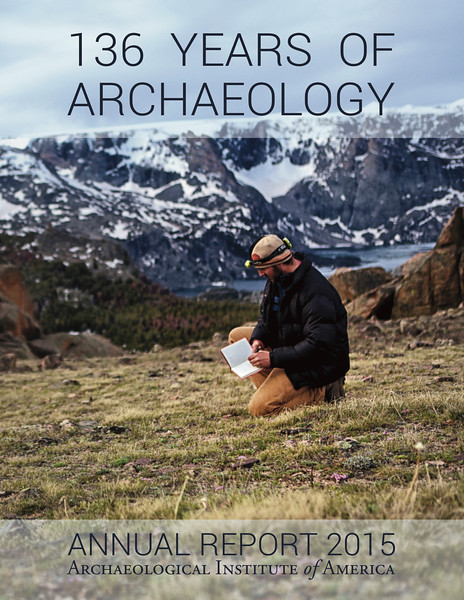Archaeological Institute of America Annual Report