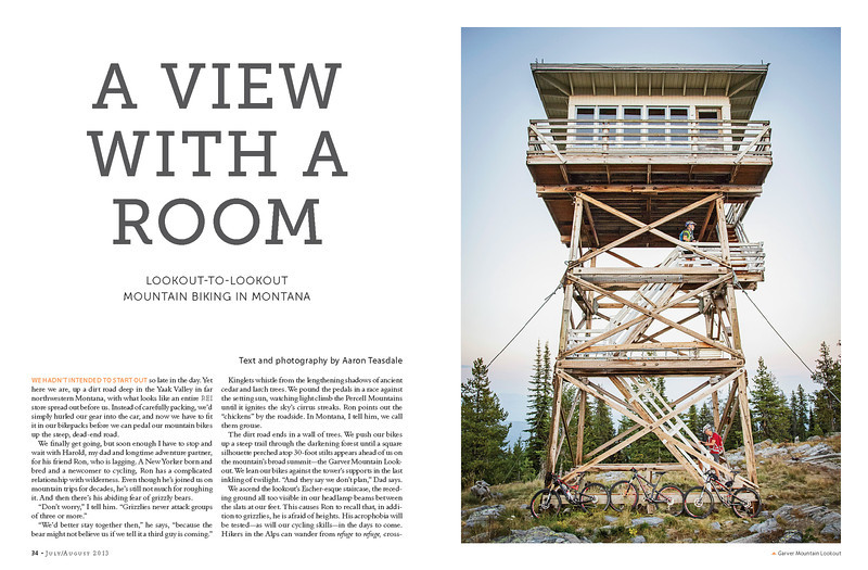 Feature story, Sierra Magazine