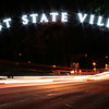 East State sign lit up at night.<br /> Local Shutterbug Photography Show<br /> Foellinger-Freimann Botanical Conservatory <br /> Saturday, April 13th