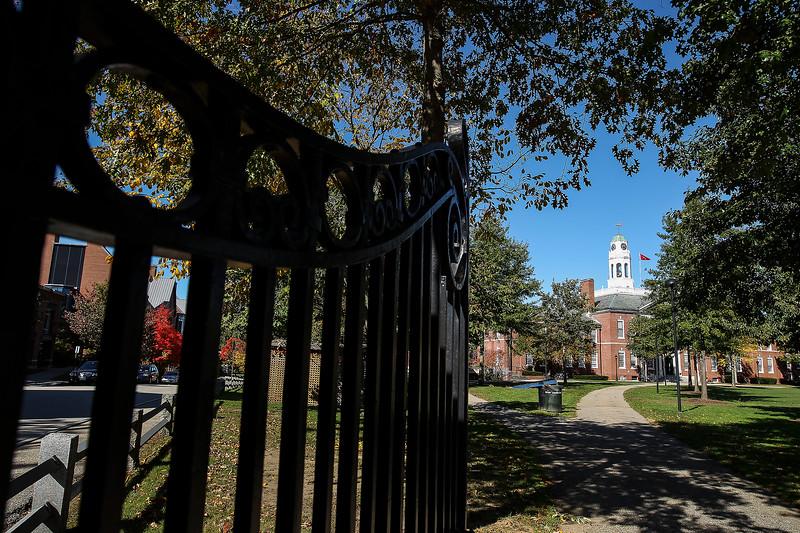 Exeter, N.H., Thursday, Oct. 9, 2014: Phillips Exeter Academy (Cheryl Senter for Phillips  Exeter Academy)