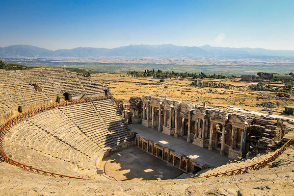 Amphitheatre of Antique Hierapolis