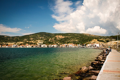 Aegean seaside of Eski Foça
