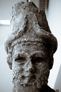 Ancient carvings on display at the Istanbul Museum of Archeology