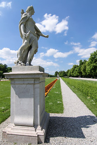 We were able to visit Nymphenburg Palace in May, 2013. A sunny day and an ultra-wide lens. I went crazy.