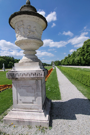 Once the private royal gardens of Nymphenburg Palace.